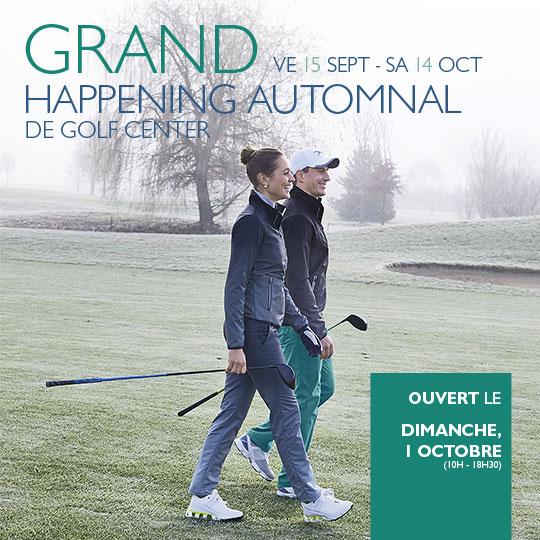 Grand Happening Automnal de Golf Center
